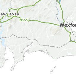 Map Of Wexford County Ireland.Electoral Area Maps Wexford County Council
